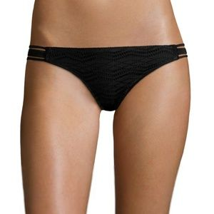 5143d71932 Bathing suit cover. $10 $22. Arizona Art Deco Black Crochet Hipster Bottoms